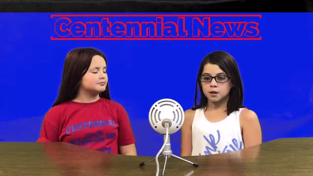 Centennial News at 7  -  Oct. 2019.  Our 5th-Grade students give you the news, Centennial Style.