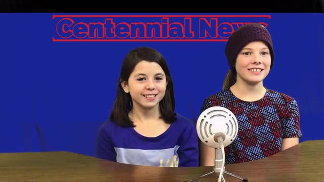 Centennial News at 11 Nov. 2019 5th Grade students give you the news, Centennial Style
