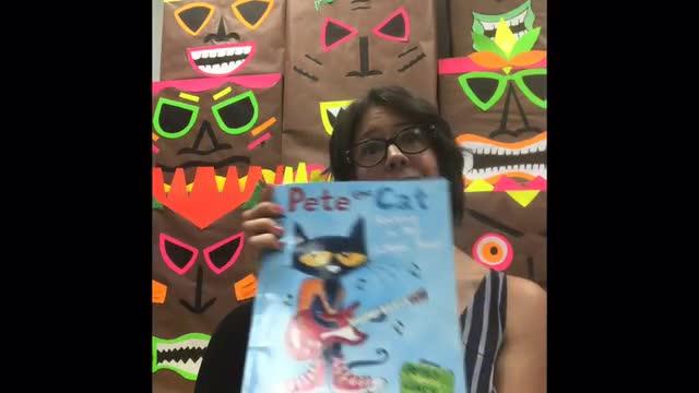 Pete the Cat read by: Eileen Fernandez