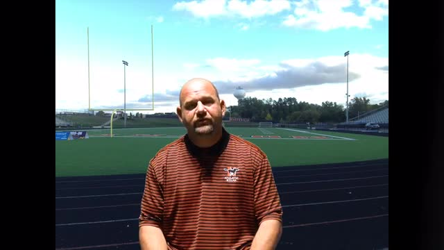 Athletic Director Bryan Masi highlights the rules and protocols for athletic teams to follow