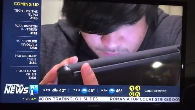 NY1 talks about the NYISE iPad and Technology Program