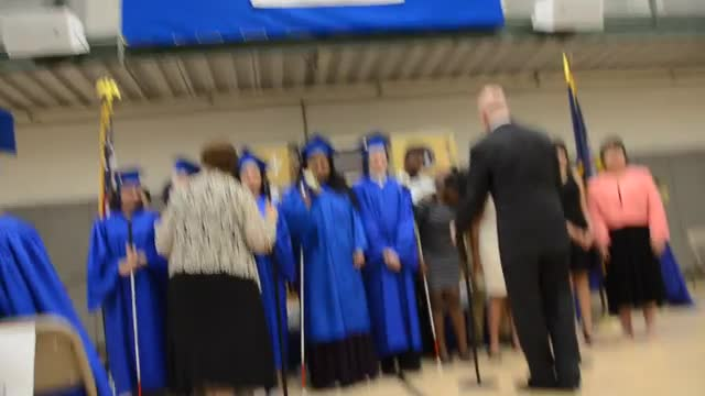 """Sing"" by Andrew Lloyd Webber as performed by the NYISE Chorus on June 21, 2018 during the Graduation Exercises."
