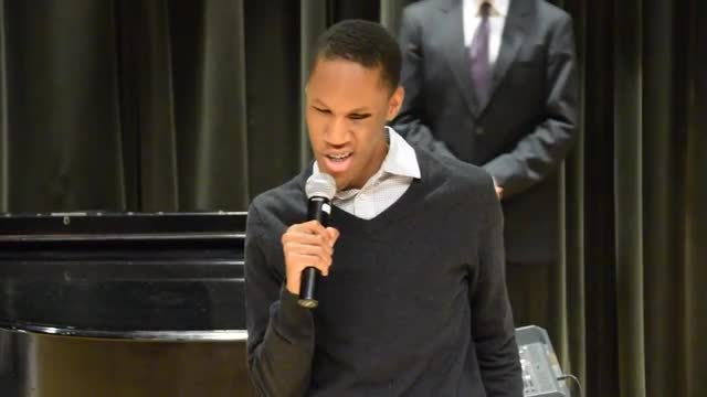 """The Christmas Song"" by Nat King Cole ""Performed by Mikael"