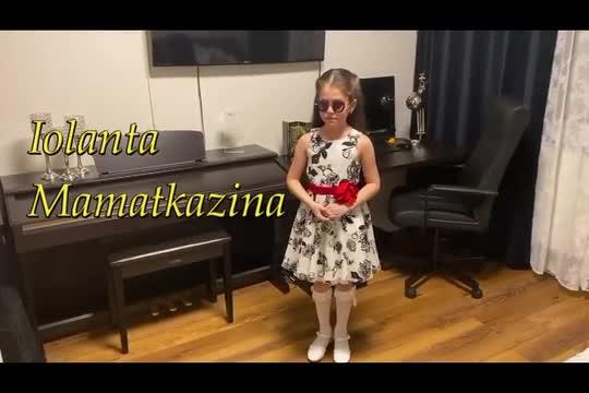 """Iolanta Mamatkazina - Mozart's """"L'ho perduta"""","""