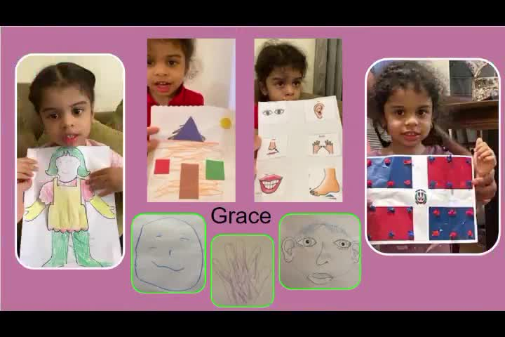 Video of Class E showing its artwork