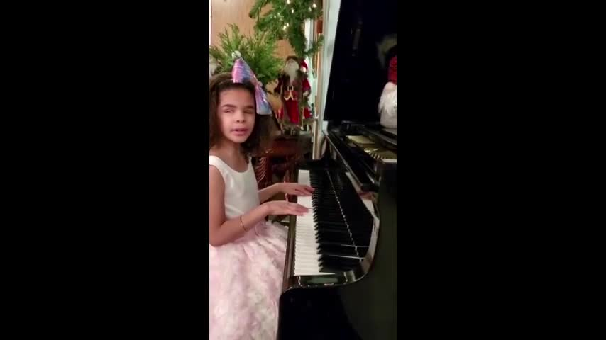 """The Christmas song for 2020"" Performed by Milagros Linares."