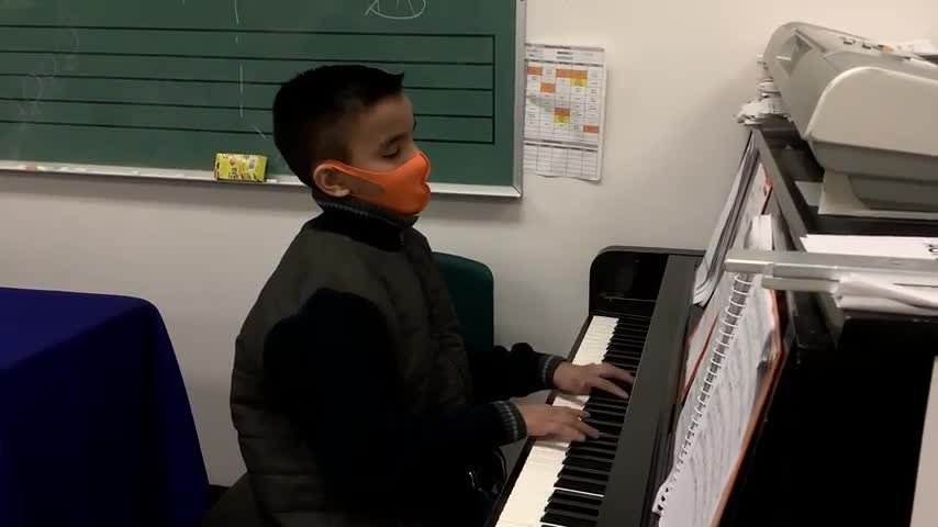 """Keep going"" performed by Mathew Vargas on piano."