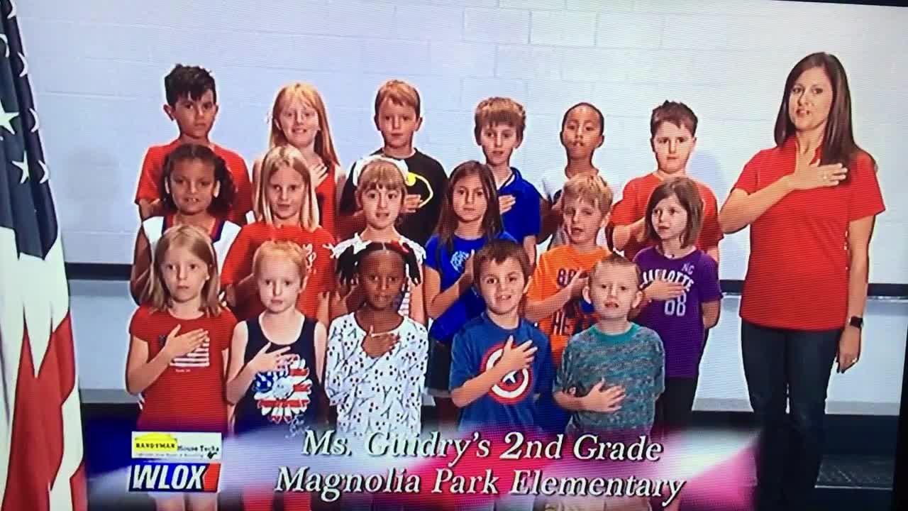 ossdms org Pledge of Allegiance-WLOX | Magnolia Park Elementary