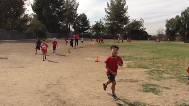 Kindergarten First Look Jog-a-Thon