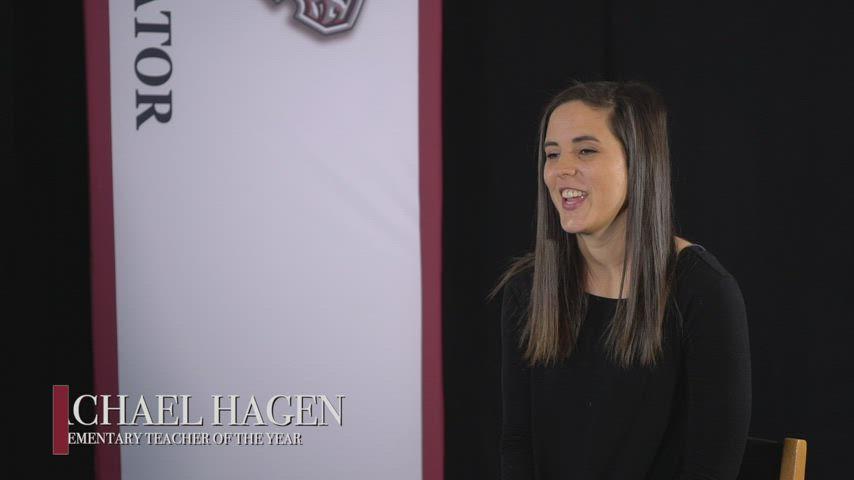 Rachael Hagen - 2021 Ator Teacher of the Year