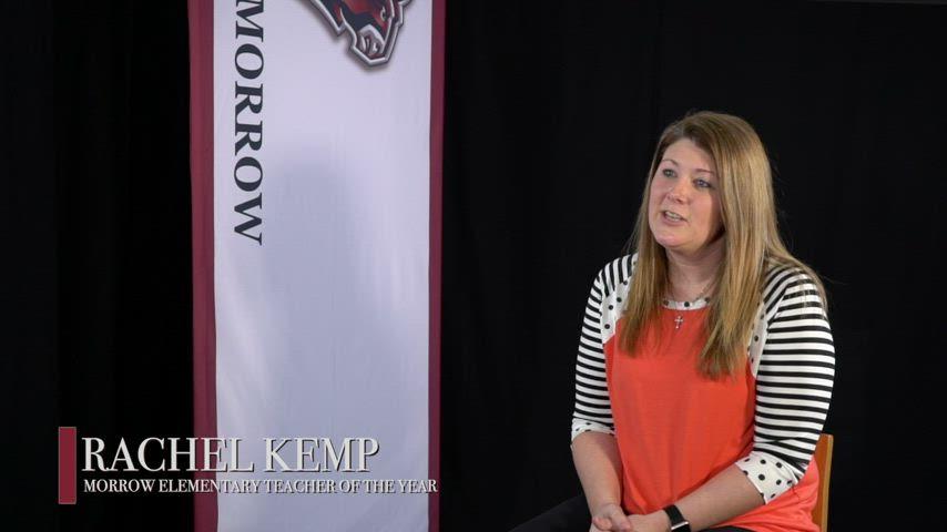 Rachel Kemp - 2021 Morrow Teacher of the Year