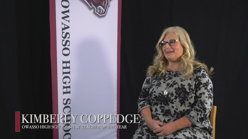 Kimberly Coppedge - 2021 OHS West Campus Teacher of the Year