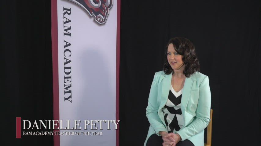 Danielle Petty - 2021 Ram Academy Teacher of the Year