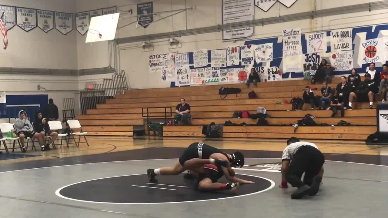 Wrestling vs Tustin   Pacifica High School