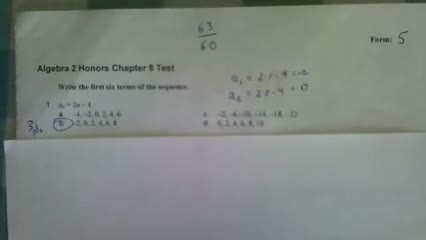 Chapter 8 Test corrections