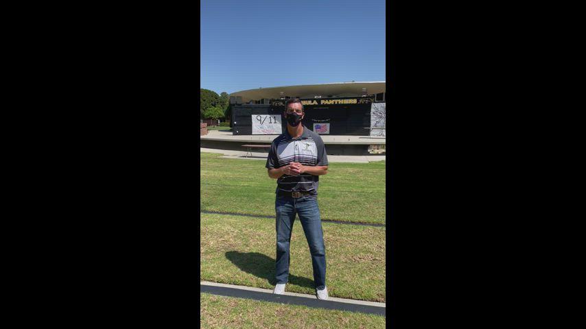 Principal Kuykendall video message