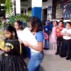 English Week at José María Roy Bilingual School