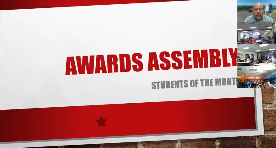 Quarter 1 Awards Assembly