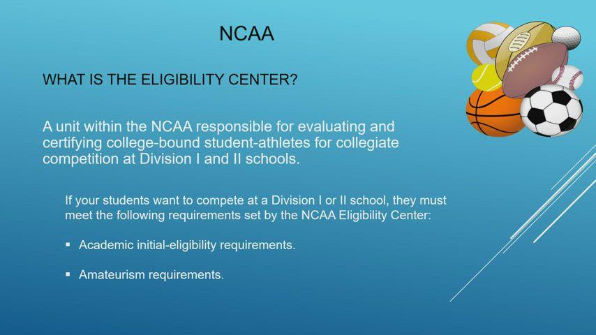 NCAA Recorded Presentation