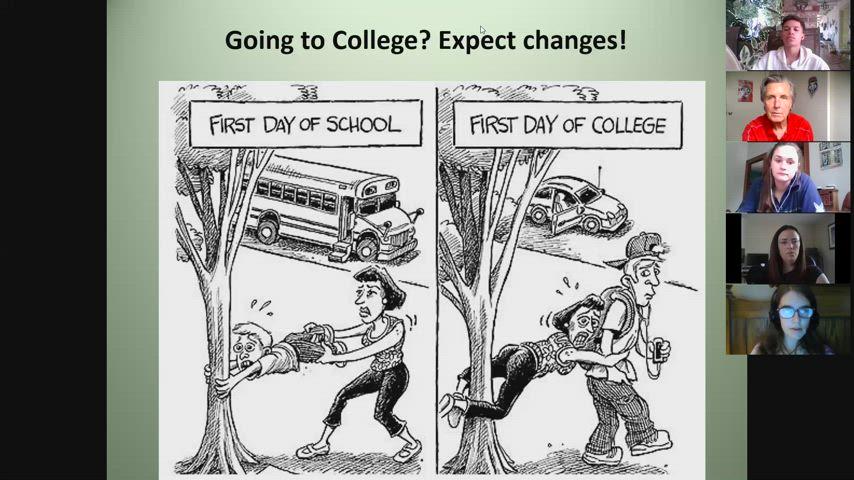 College representative advice