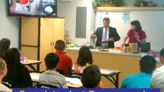 Superintendent Doug Domene Cooks