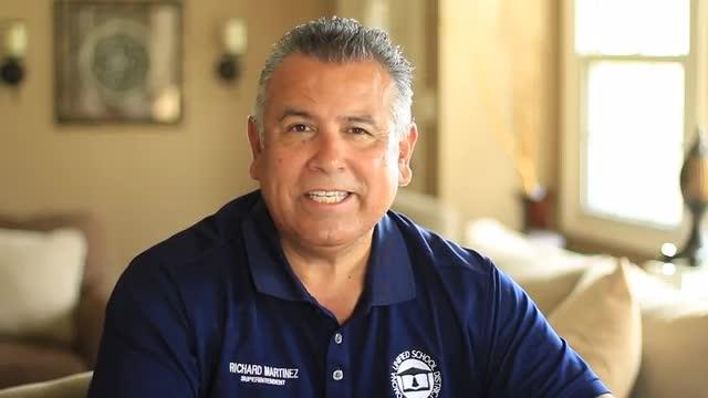 Mensaje De Superintendente Richard Martinez