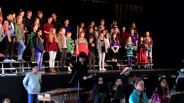 Christmas chapel performances in December 2017