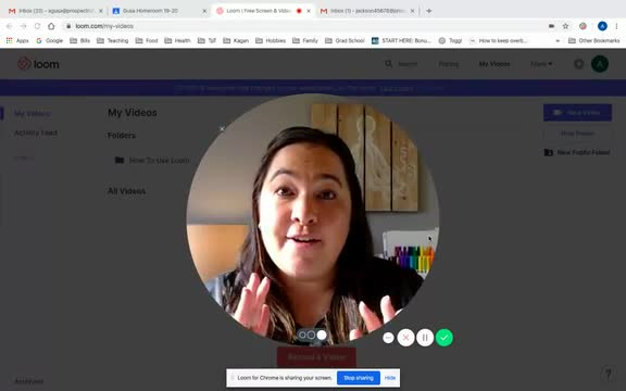 Video for Distance Learning