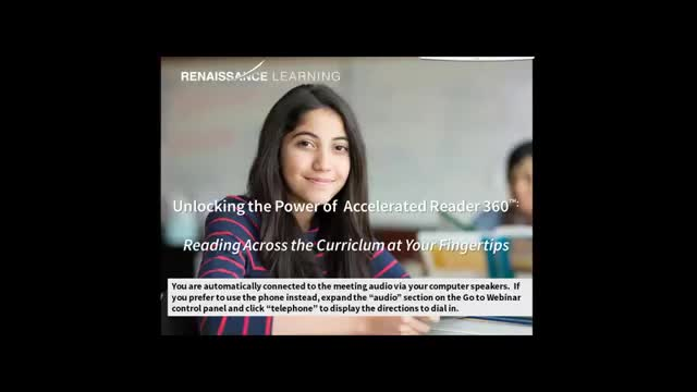 Renlearn Ar 360 Reading Across The Curriculum Prospect Charter School