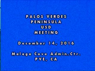 December 14, 2016 Board Meeting