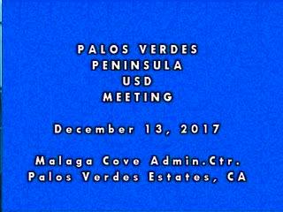 December 13, 2017 Board Meeting Video