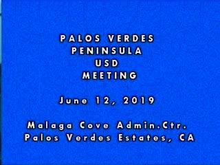 School Board Meeting - June 12, 2019