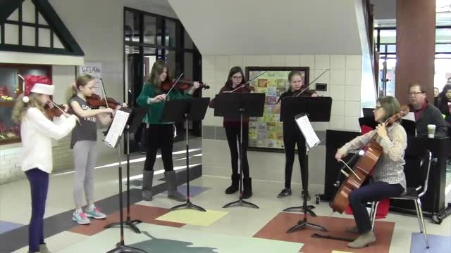 Osborne Elementary  Winter Celebration 2018