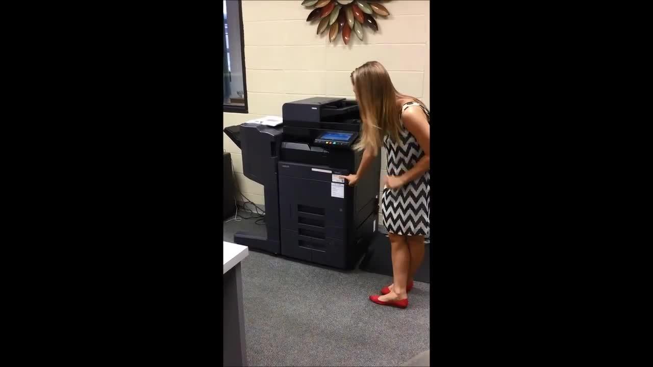 Kyocera Copier Training Video | Reeds Spring School District
