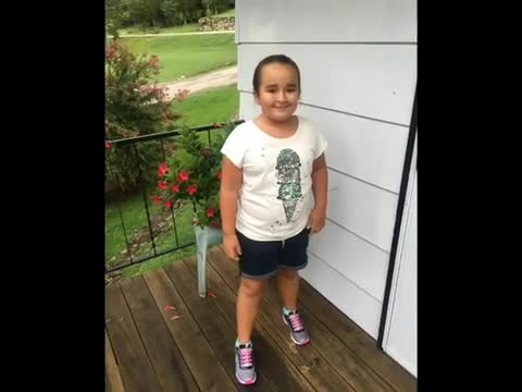 These are pictures that parents sent in of students on the first day of school.