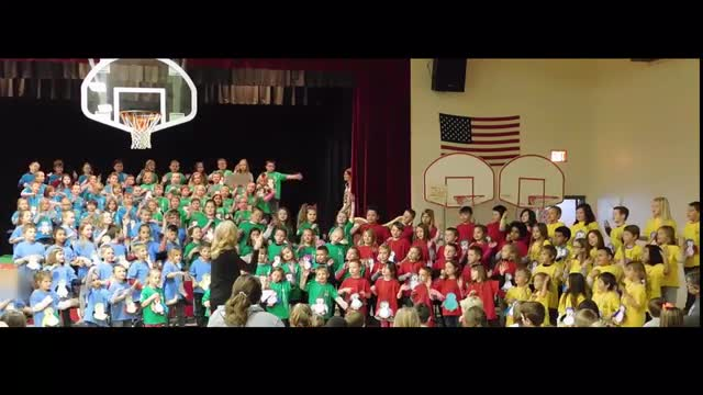 Reeds Spring Primary School first-graders performed their musical program on December 12, 2017.