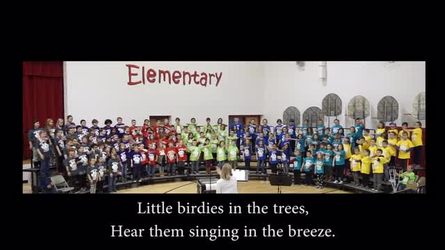 Reeds Spring Elementary School second-graders performed on Thursday, March 7.