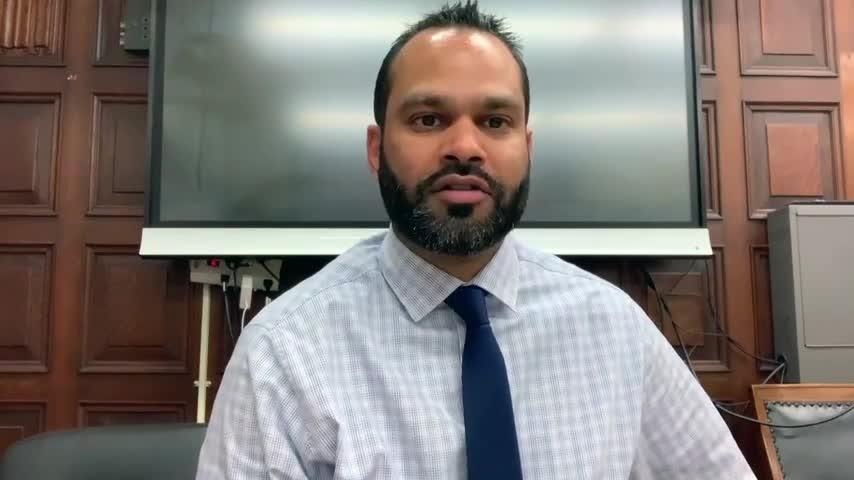 Principal Ganesh addresses school community