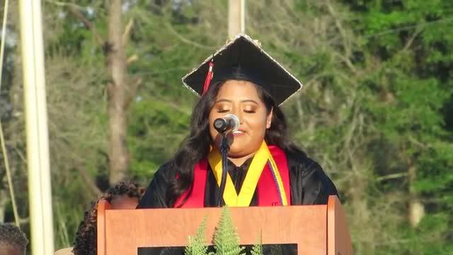 Valedictory Address: Karen Cervantes
