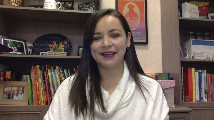 Kennedy's Principal Ms. Alvarez gives weekly information.