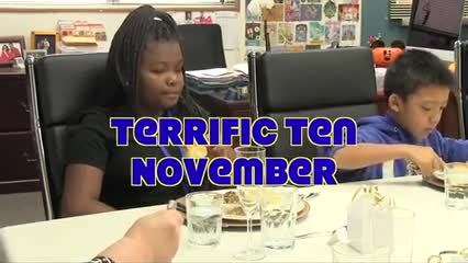 November 2017 terrific 10 student video