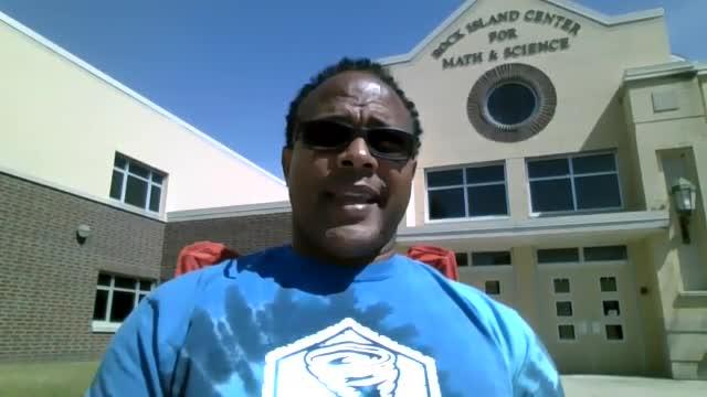 Dr. Reginald Lawrence, Superintendent RIMSD #41