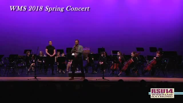 WMS Spring 2018 Concerts