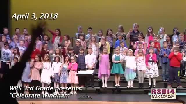 WPS Spring 2018 3rd Grade Concert