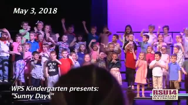 WPS Kindergarten Concert Spring 2018