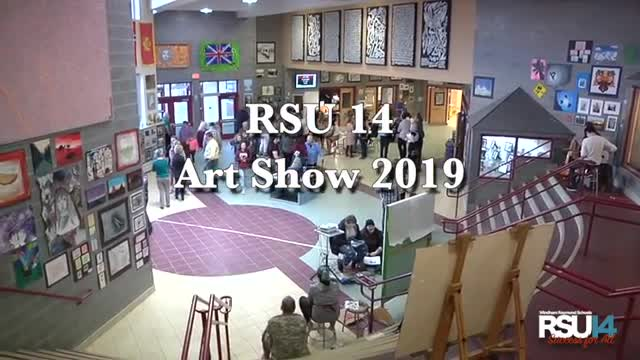 RSU14 Art Show 2019 Highlights