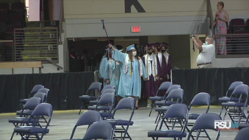 WHS 2021 Graduation Part 1