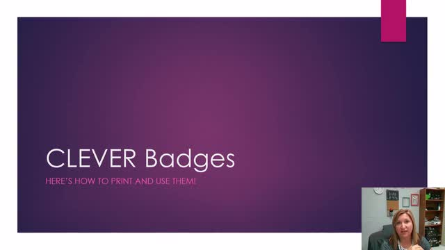 CLEVER Badges