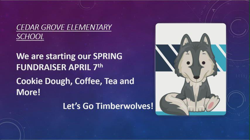 Fun-Raising Starts April 7th