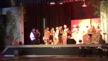 Preview Lion King Performance